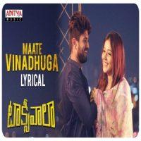 Maate Vinadhuga song download