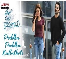 Peddha Peddha Kallathoti Telugu Single Song Poster